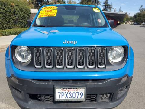 2015 Jeep Renegade for sale at ALL CREDIT AUTO SALES in San Jose CA