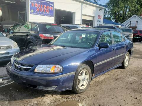 2001 Chevrolet Impala for sale at Ericson Auto in Ankeny IA