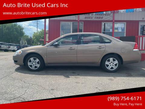 2006 Chevrolet Impala for sale at Auto Brite Used Cars Inc in Saginaw MI