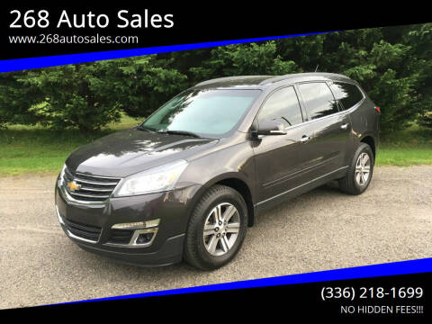 2015 Chevrolet Traverse for sale at 268 Auto Sales in Dobson NC
