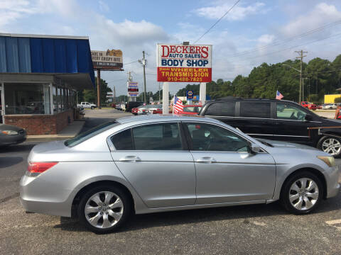 2008 Honda Accord for sale at Deckers Auto Sales Inc in Fayetteville NC
