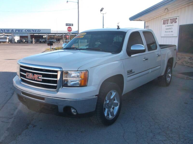 2013 GMC Sierra 1500 for sale at AUTO TOPIC in Gainesville TX
