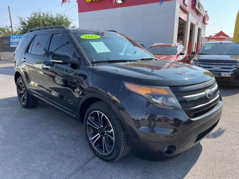 2014 Ford Explorer for sale at VIVASTREET AUTO SALES LLC - VivaStreet Auto Sales in Socorro TX
