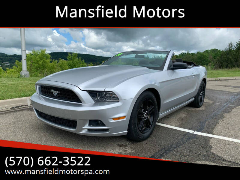 2014 Ford Mustang for sale at Mansfield Motors in Mansfield PA