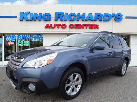 2013 Subaru Outback for sale at KING RICHARDS AUTO CENTER in East Providence RI