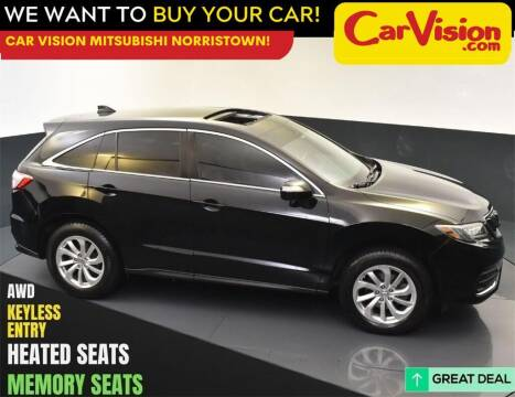 2017 Acura RDX for sale at Car Vision Mitsubishi Norristown in Norristown PA