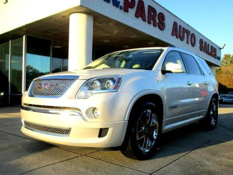 2011 GMC Acadia for sale at Pars Auto Sales Inc in Stone Mountain GA