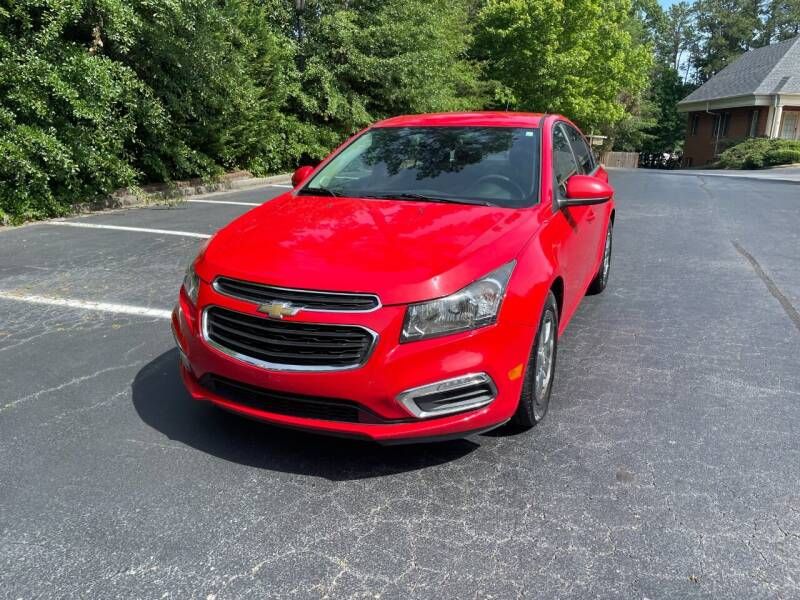 2016 Chevrolet Cruze Limited for sale at SMT Motors in Roswell GA