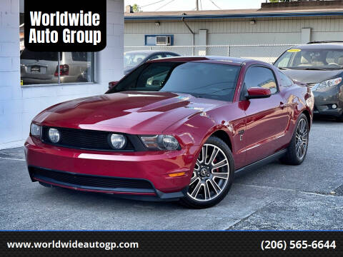 2011 Ford Mustang for sale at Worldwide Auto Group in Auburn WA