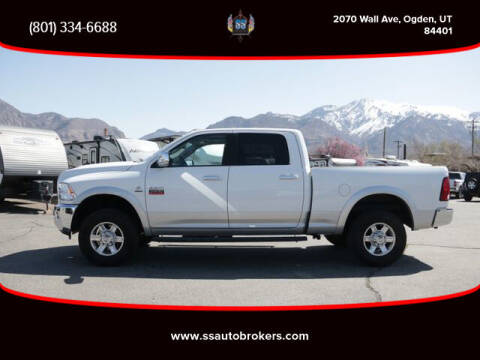 2012 RAM Ram Pickup 2500 for sale at S S Auto Brokers in Ogden UT