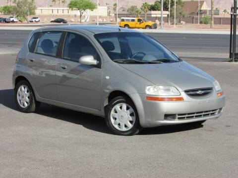 2005 Chevrolet Aveo for sale at Best Auto Buy in Las Vegas NV