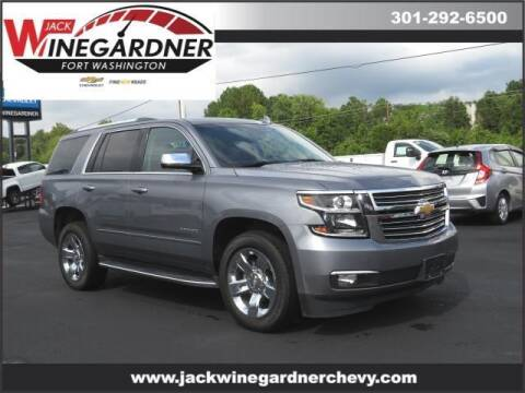 2018 Chevrolet Tahoe for sale at Winegardner Auto Sales in Prince Frederick MD
