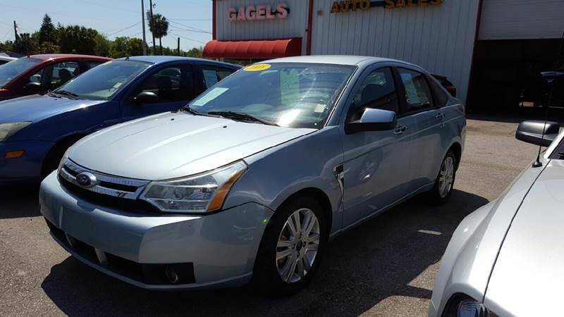 2008 Ford Focus for sale at Gagel's Auto Sales in Gibsonton FL