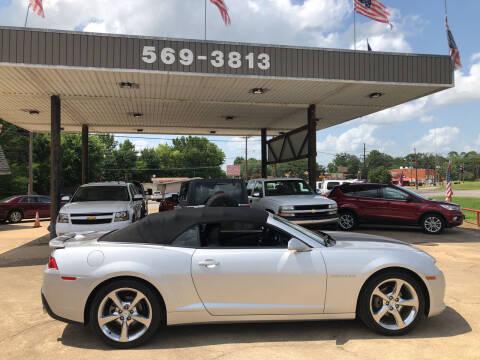 2014 Chevrolet Camaro for sale at BOB SMITH AUTO SALES in Mineola TX