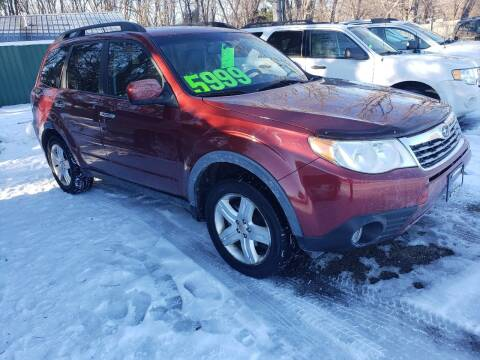 2009 Subaru Forester for sale at Northwoods Auto & Truck Sales in Machesney Park IL