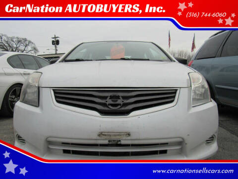 2010 Nissan Sentra for sale at CarNation AUTOBUYERS, Inc. in Rockville Centre NY