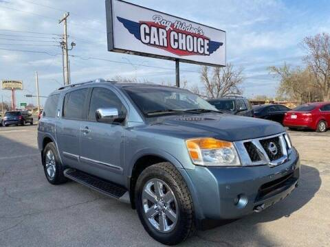 2012 Nissan Armada for sale at Ray Hibdon's Car Choice in Oklahoma City OK