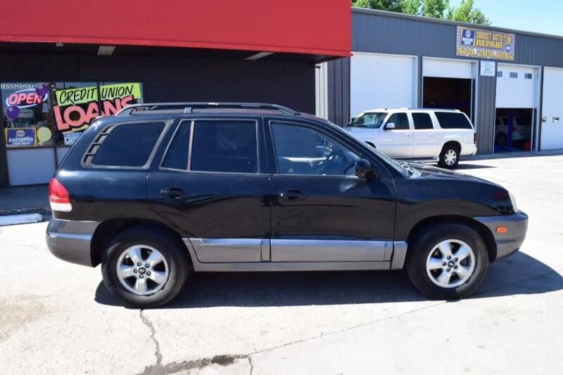 2005 Hyundai Santa Fe for sale at Sunset Auto Sales & Repair in Lasalle CO
