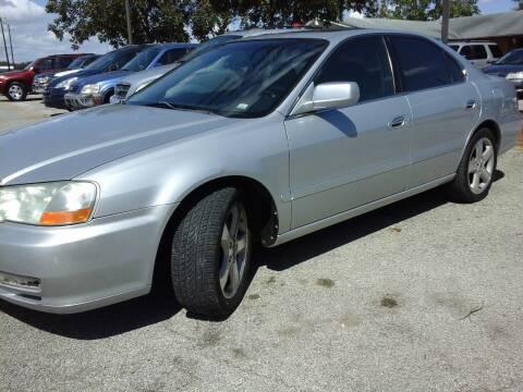 2002 Acura TL for sale at John 3:16 Motors in San Antonio TX