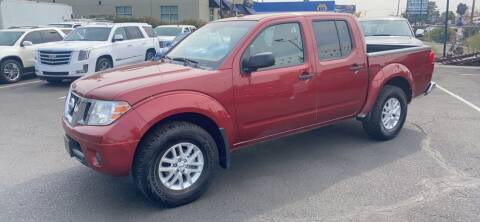 2014 Nissan Frontier for sale at Lion's Auto INC in Denver CO