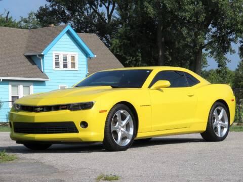 2014 Chevrolet Camaro for sale at Tonys Pre Owned Auto Sales in Kokomo IN