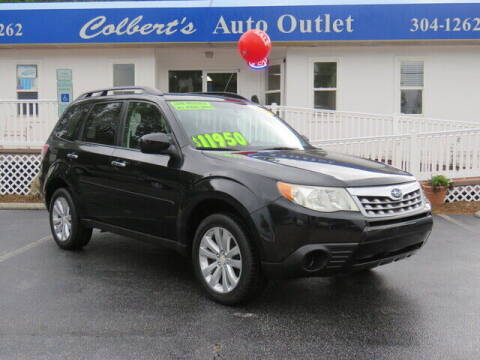 2012 Subaru Forester for sale at Colbert's Auto Outlet in Hickory NC