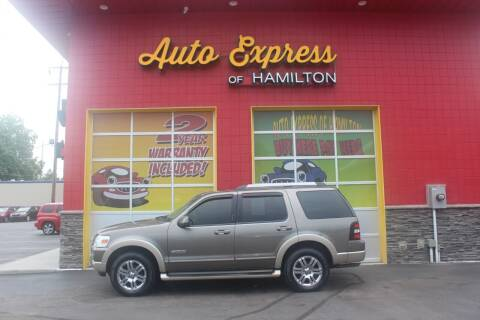 2006 Ford Explorer for sale at AUTO EXPRESS OF HAMILTON LLC in Hamilton OH