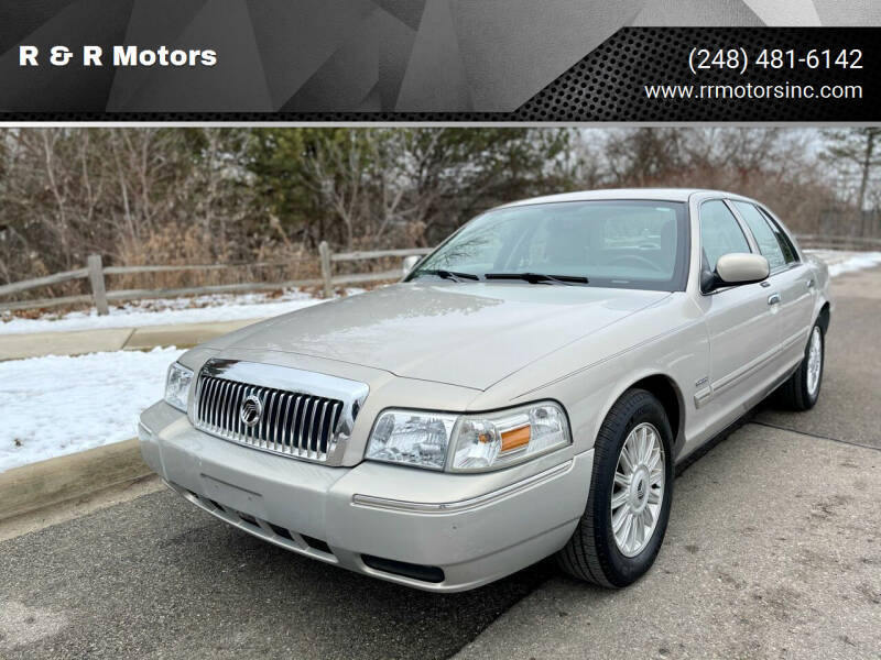 2009 Mercury Grand Marquis for sale at R & R Motors in Waterford MI