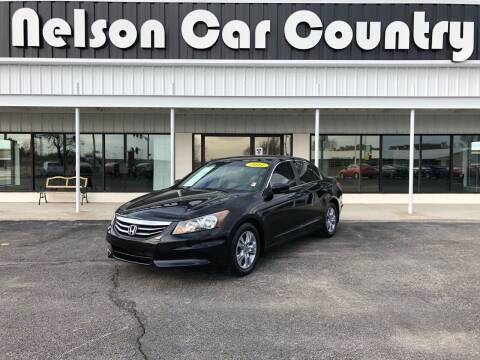 2011 Honda Accord for sale at Nelson Car Country in Bixby OK
