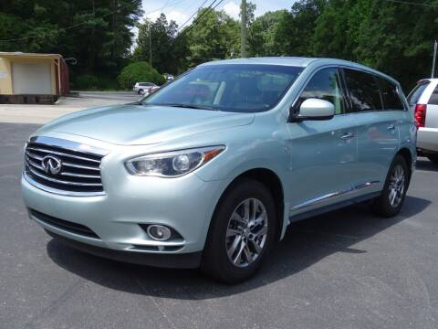 2014 Infiniti QX60 for sale at Luxury Auto Innovations in Flowery Branch GA