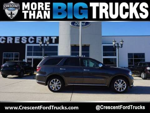 2019 Dodge Durango for sale at Crescent Ford in Harahan LA