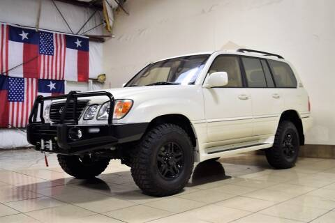 2001 Lexus LX 470 for sale at ROADSTERS AUTO in Houston TX