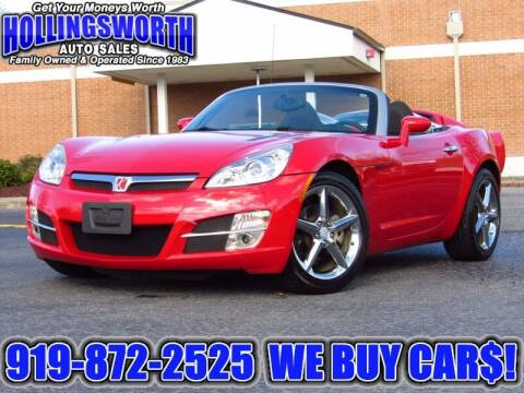 2008 Saturn SKY for sale at Hollingsworth Auto Sales in Raleigh NC