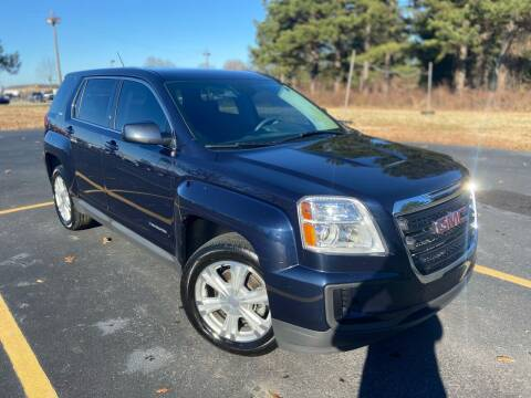 2017 GMC Terrain for sale at D3 Auto Sales in Des Arc AR