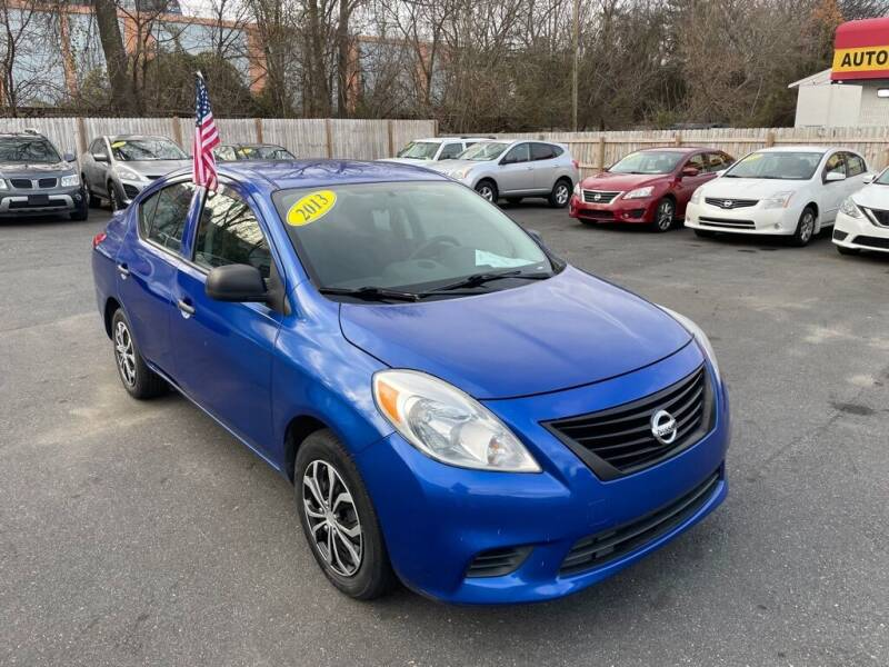 2013 Nissan Versa for sale at Auto Revolution in Charlotte NC