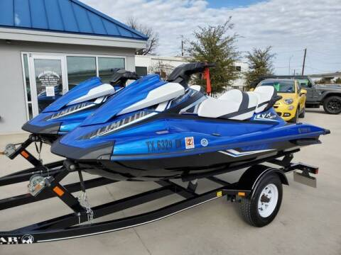 2017 Yamaha WAVE RUNNER VX LIMITED for sale at Kell Auto Sales, Inc - Grace Street in Wichita Falls TX