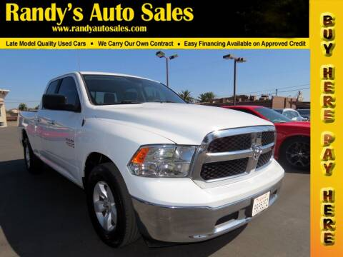 2017 RAM Ram Pickup 1500 for sale at Randy's Auto Sales in Ontario CA