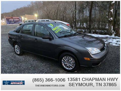 2007 Ford Focus for sale at Union Motors in Seymour TN