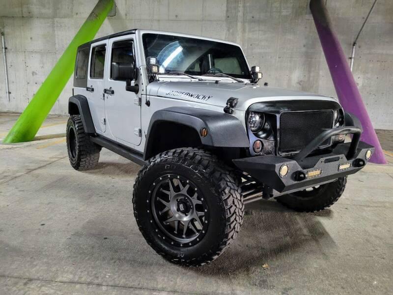 2010 Jeep Wrangler Unlimited for sale at Kelley Autoplex in San Antonio TX