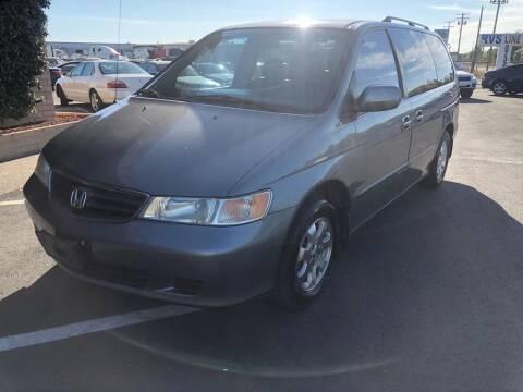 2002 Honda Odyssey for sale at Thunder Auto Sales in Sacramento CA