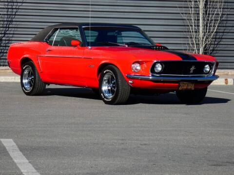 1969 Ford Mustang for sale at Sun Valley Auto Sales in Hailey ID
