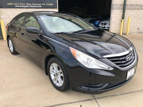 2011 Hyundai Sonata for sale at KAYALAR MOTORS - ECUFAST HOUSTON in Houston TX
