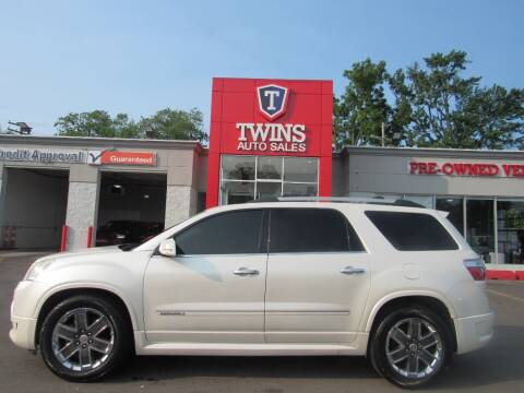 2012 GMC Acadia for sale at Twins Auto Sales Inc in Detroit MI