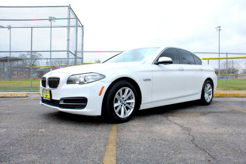 2014 BMW 5 Series for sale at MEGA MOTORS in South Houston TX