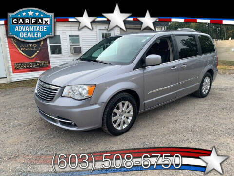 2014 Chrysler Town and Country for sale at J & E AUTOMALL in Pelham NH