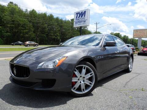 2015 Maserati Quattroporte for sale at AUTOTYM INC in Fredericksburg VA