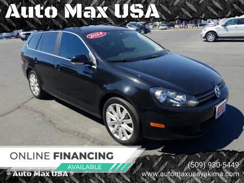 2014 Volkswagen Jetta for sale at Auto Max USA in Yakima WA