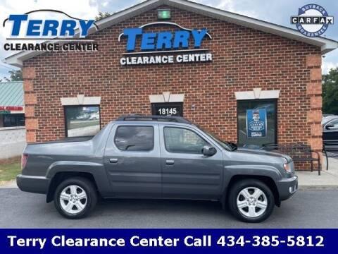 2013 Honda Ridgeline for sale at Terry Clearance Center in Lynchburg VA