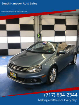 2012 Volkswagen Eos for sale at South Hanover Auto Sales in Hanover PA