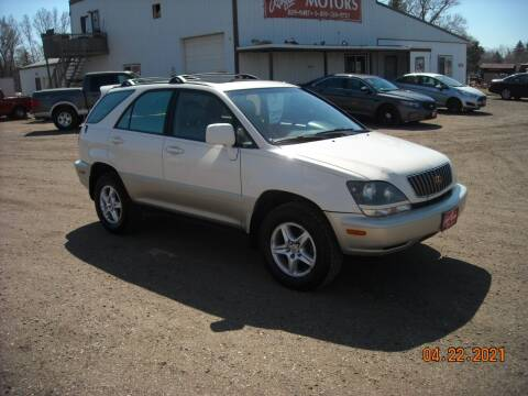 2000 Lexus RX 300 for sale at Ron Lowman Motors Minot in Minot ND